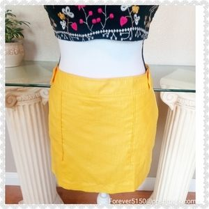 Cache Yellow Skort/Skirt